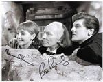 Maureen O'Brien and Peter Purves from DOCTOR WHO genuine signed autograph 11404